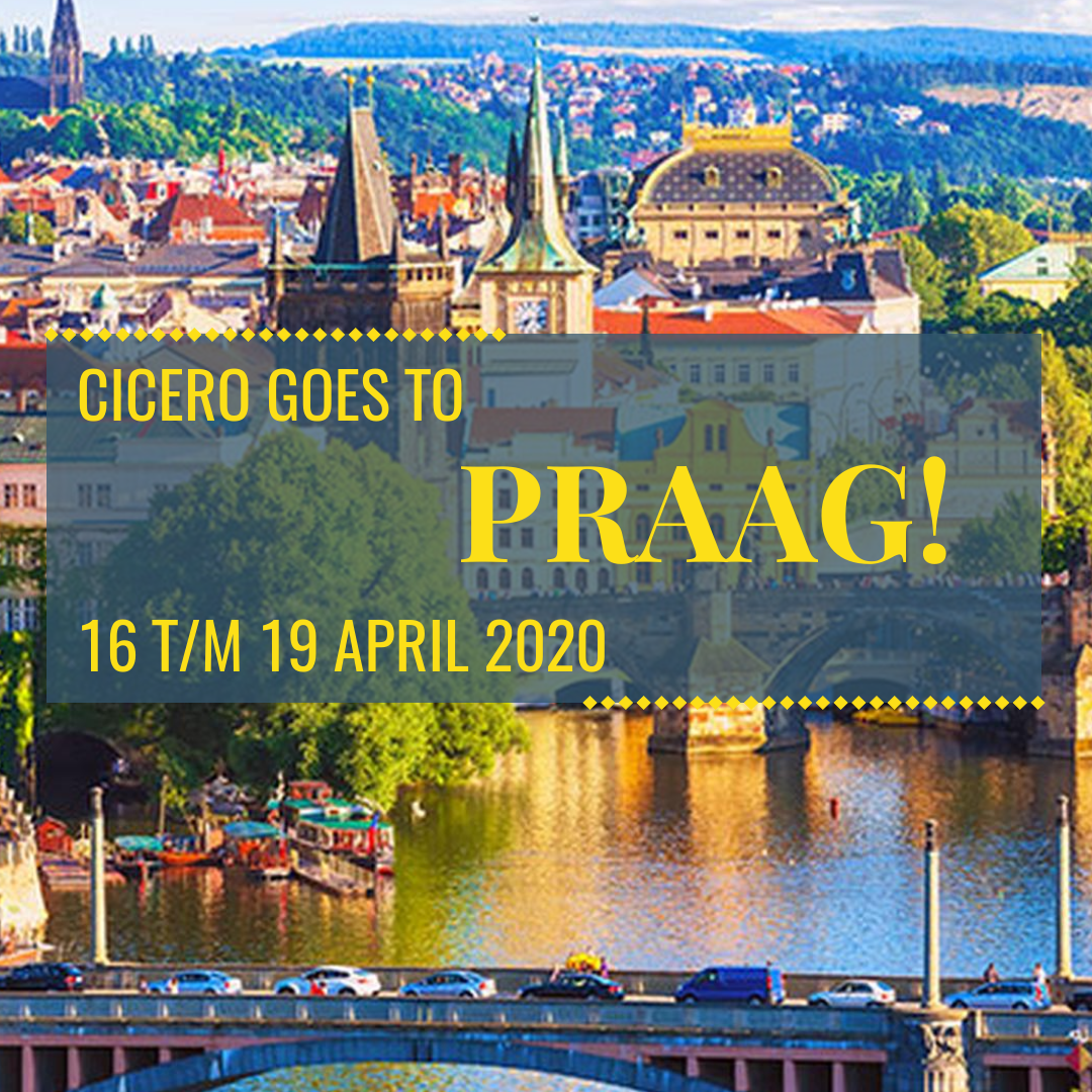 CICERO GOES TO PRAAG!